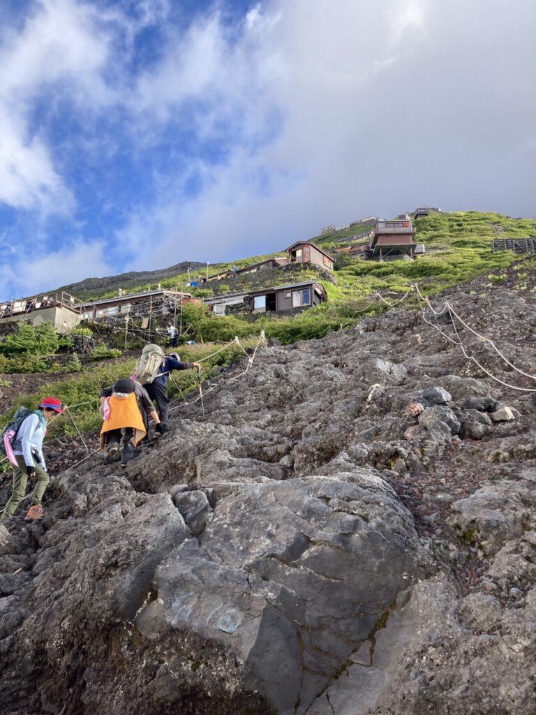 吉田ルート 登山ルート2